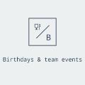 Sünnipäevad ja tiimiüritused